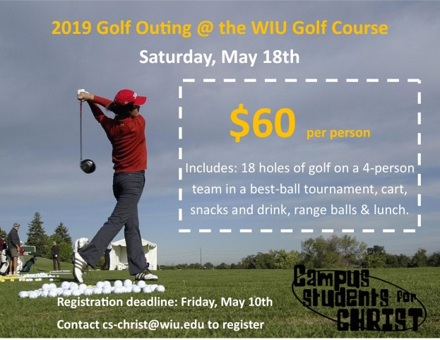 2019 Golf Outing Brochure, back