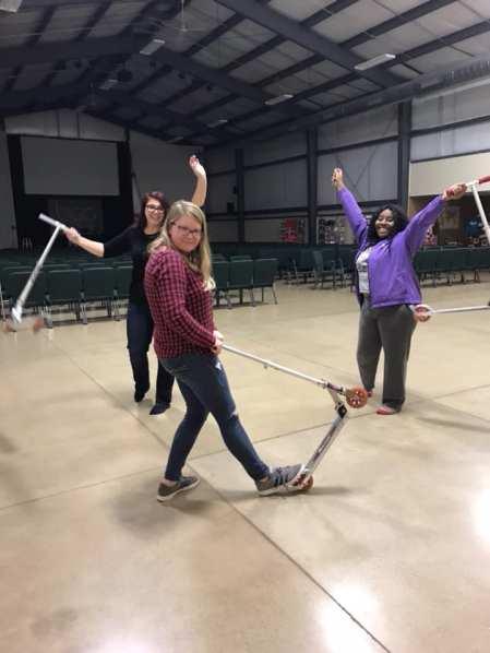 women's retreat scooters